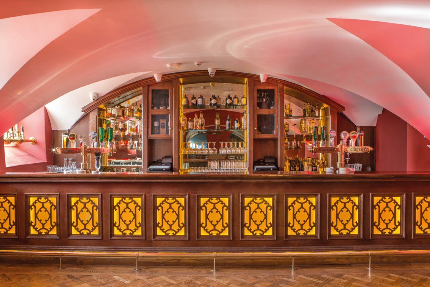 Markree Castle bar