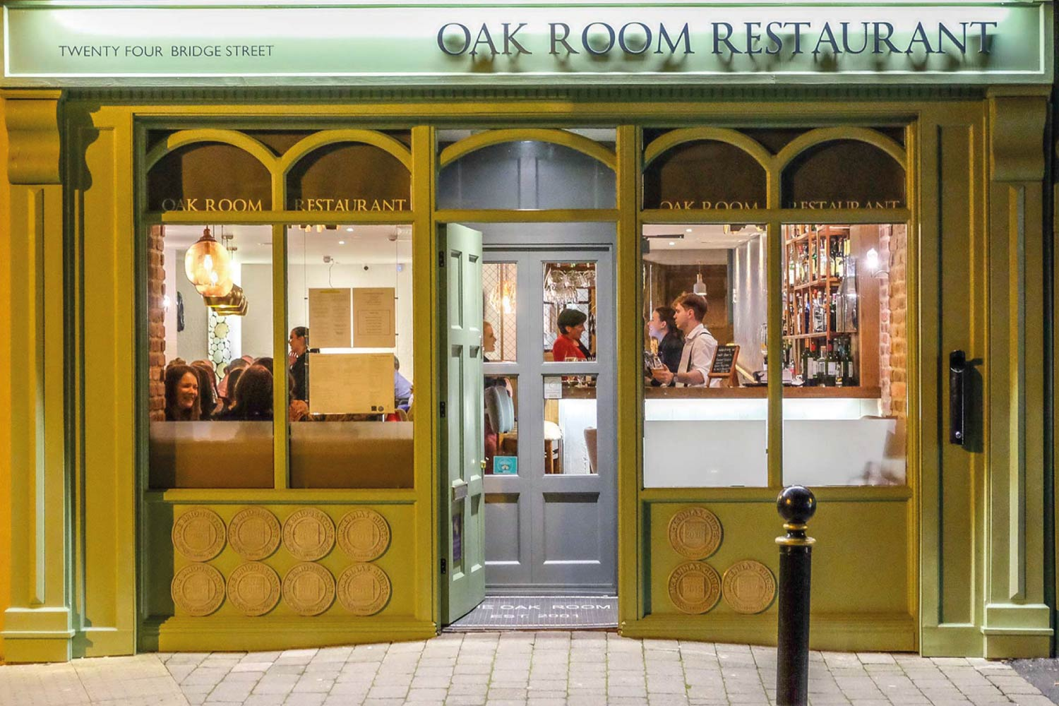 Oak rooms restaurant fit-out